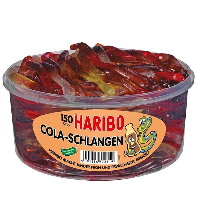 Haribo-Cola-Schlangen